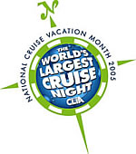 National Cruise Vacation Month 2005; The World's Largest Cruies Night; CLIA